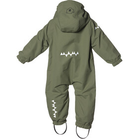 Isbjörn Hardshell Jumpsuit Småbarn moss